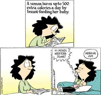 Breastfeeding Comic And Hilarious On Pinterest
