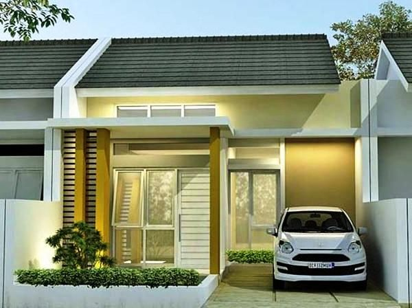 Gambar Warna Cat Rumah Minimalis Type 45 Modern Desain Rumah