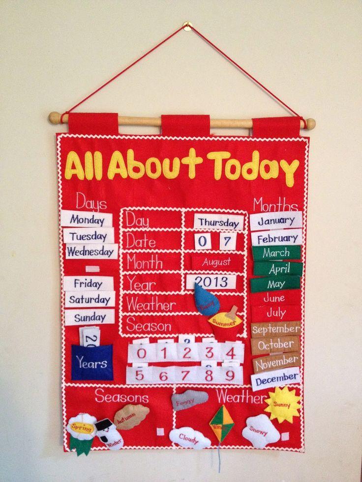 Calendário Infantil