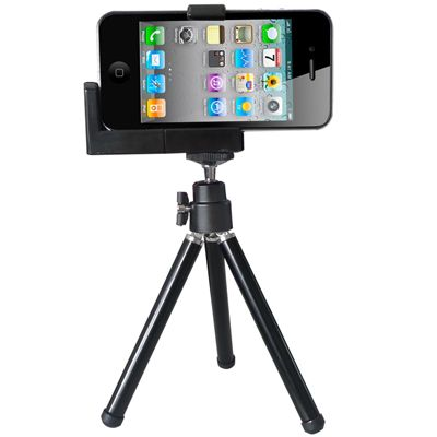 [$1.90] iPhone /Camera Tripod /Universal Mounting Metal Holder(Black)