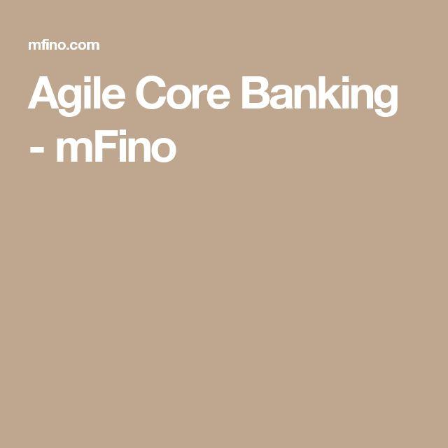 Agile Core Banking - mFino