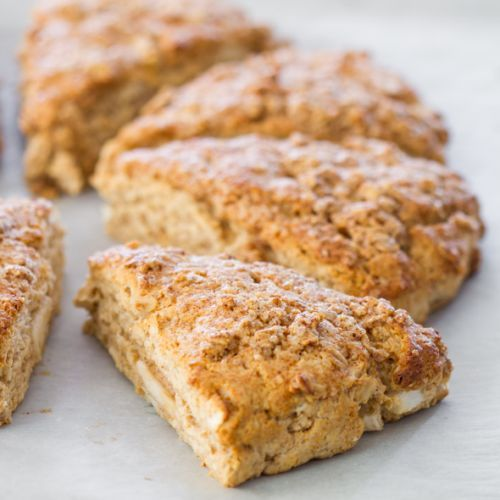 Apple Cinnamon Scones | Food- Breads, Biscuits, Muffins & Rolls | Pin ...