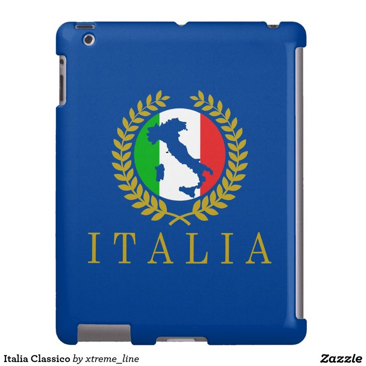 Italia Classico iPad Barely There Case.