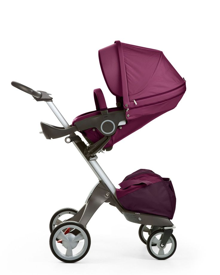 Stokke Xplory: The ultimate connection stroller. Stokke Xplory lifts your child closer to help you explore together. What's more, Stokke Xplory grows with your child. From the obvious height advantage