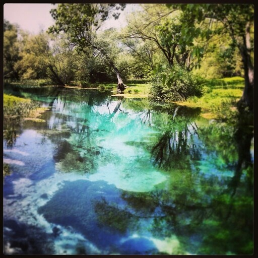 Tirino River. A few days ago. I love Abruzzo