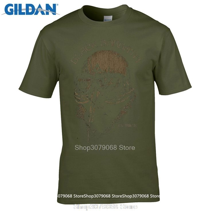 GILDAN  Fashion  Black Sabbath Us Tour 78 Avengers T Shirt Iron Man Ozzy Osbourne Merch  Design T Shirt Own Style Tees #Affiliate