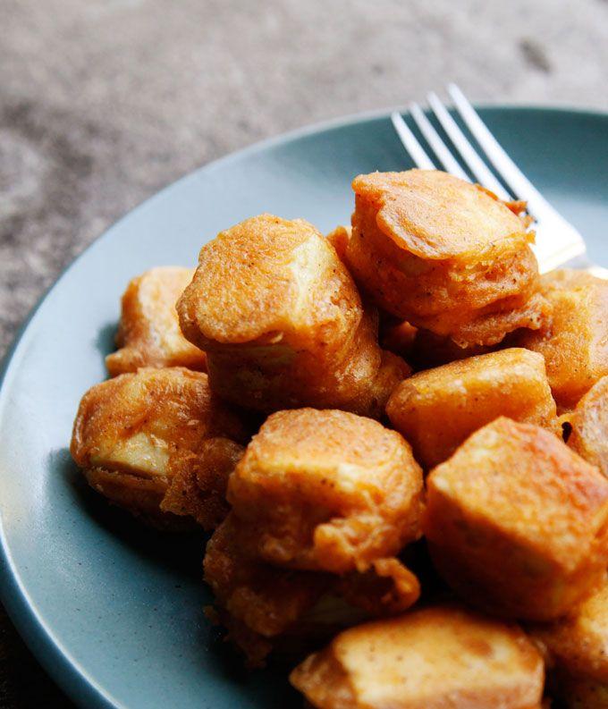 Seasoned Tofu Nuggets