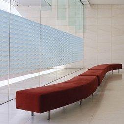 Vindusfolie GLC-4602 - innynshindrende folie med et fantastisk mønster som ser ut som 1x1 cm glassbyggerstein. Flott dekor på et hvert vindu som trenger å blendes mot innsyn.