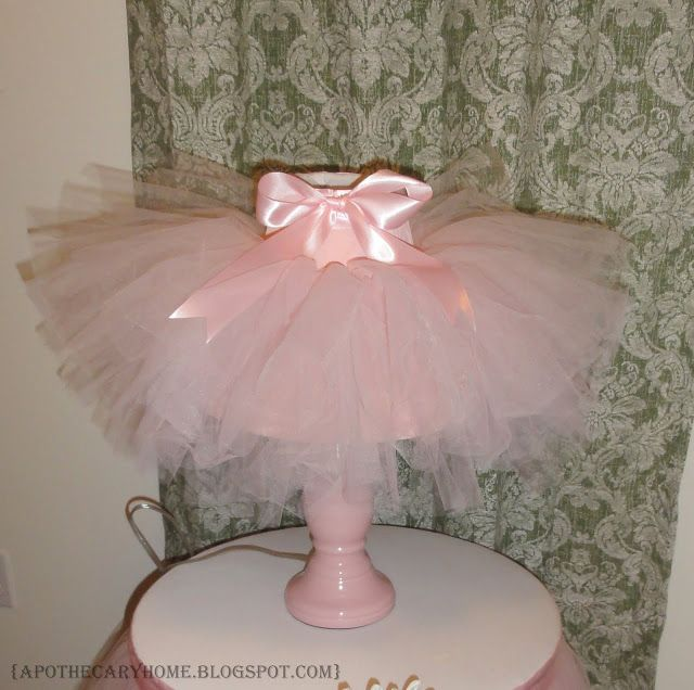 I bought a pink lamp at a thrift store for a couple bucks a while back. I thought it would be cute in my daughter's room.   It had a crea...