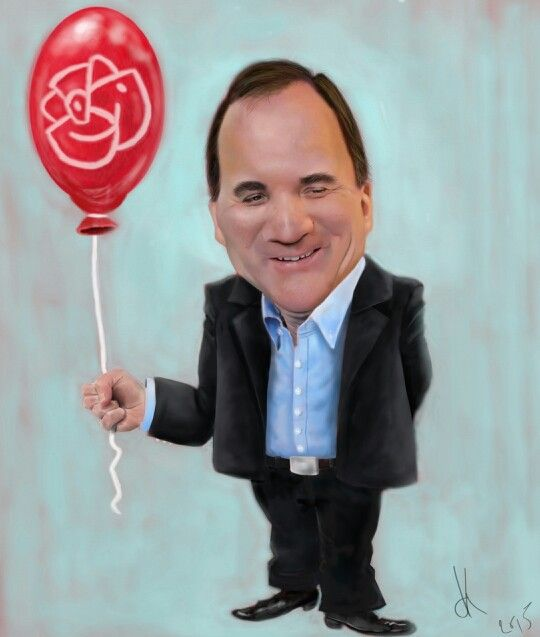 #StefanLöfven#caricature