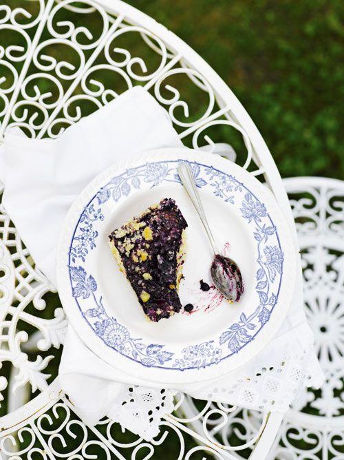 Blueberry pie - popular in Finland