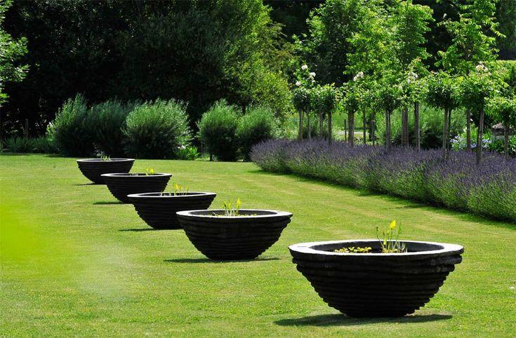 Remarkable garden - Jardins du Chaigne at Touzac, Charente