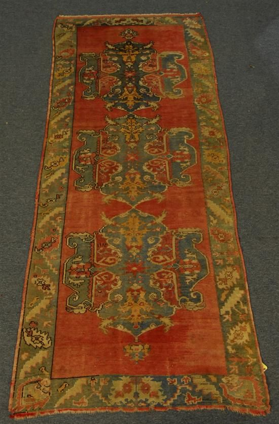 Grogan And Company Ushak Carpet Turkey Circa 1915 12 Feet 6 Inches X 4 Feet 10 Inches Turkish Carpet Carpet Rugs