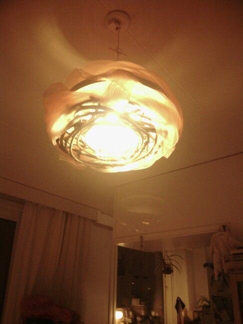 my bohemic lamp shade :)