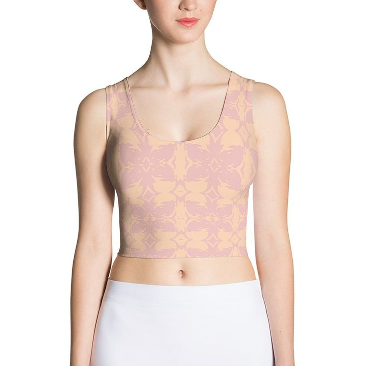 Neutral Crop Top