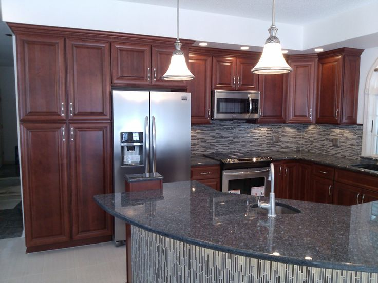 Loving The Tile On This Island! Kitchen Designed By Mark Given Of  Remarkable Remodeling With