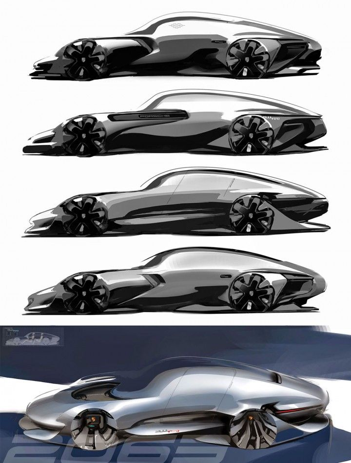 Daily Sketch: Porsche 911 by Min Byung Yoon  gallery: http://buff.ly/1PFw4kF  Min's blog: http://buff.ly/1MVYWWN