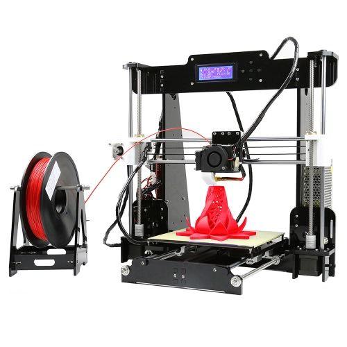 Compre melhor reino unido Anet A8 Atualizou a impressora 3D de mesa de alta precisão Reprap Prusa i3 Kits de bricolagem Montagem automática Tamanho de impressão de quadro acrílico 220 * 220 * 240mm Suporte ABS / PLA / HIP / PP / Filamento de madeira com cartão de memória de 8GB e 1 rolo de filamento PLA na Tomtop.com. Comprar barato e de qualidade Acessórios para impressoras e copiadoras online,vários descontos estão esperando por você