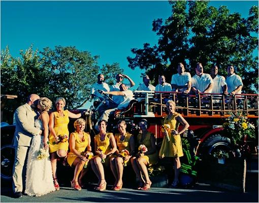 Firefighter Photography | Firefighter Wedding Ideas A