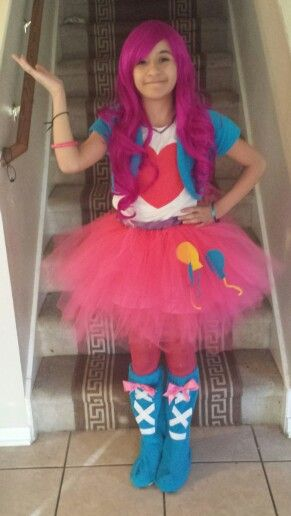 My Little Pony Equestria Pinkie Pie a homemade costume