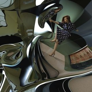Inspired by Rem Koolhaas' Delirious New York, Glasser creates auditory architecture on her latest release, Interiors.
