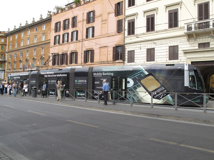 #tram #roma #noverca