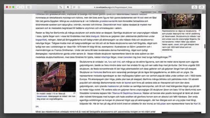 Jämförelse mellan artikel i NE och #Wikipedia https://www.youtube.com/watch?v=Nhpt-_390Ow .