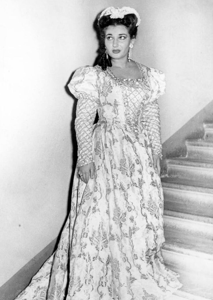 Unseen pictures of Maria Callas'