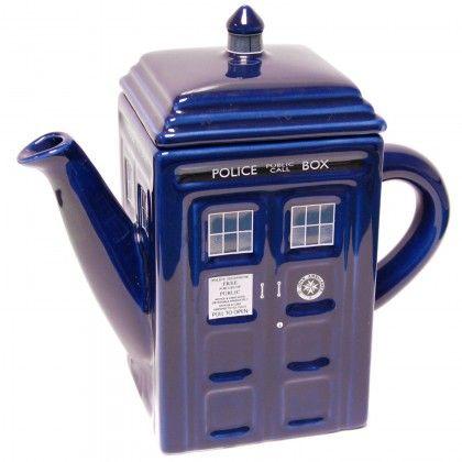 Doctor Who Tardis Teekannu - AlphaGeek 39 e