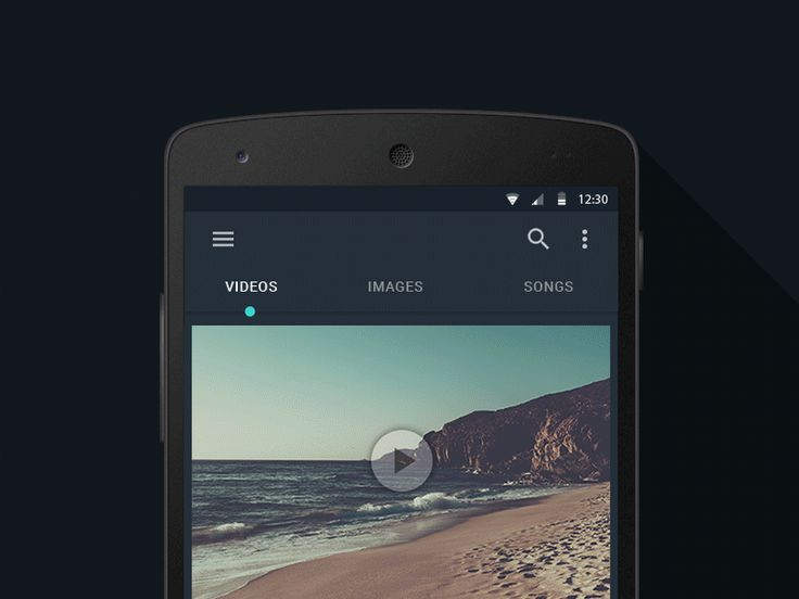 Android Tab Interaction - UI Interactions