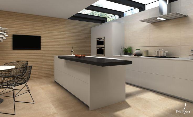 #Amazing #Keraben #tiles #kitchen #design