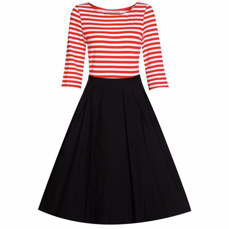 ZAFUL Women Cotton Plus Size S~4XL Vintage Rockabilly Dress 60s Stripe Ball Gown Swing Party Prom Cocktail Tea feminine vestidos