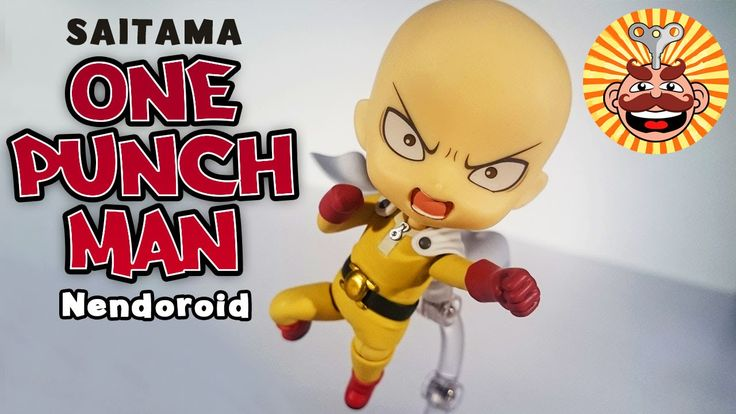 Nendoroid One Punch Man Saitama figure Review - Monsieur Toys