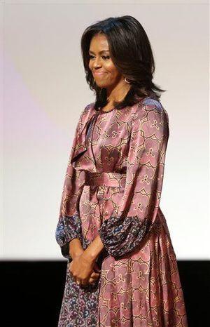 Michelle Obama speaks on need for girls' education worldwide
