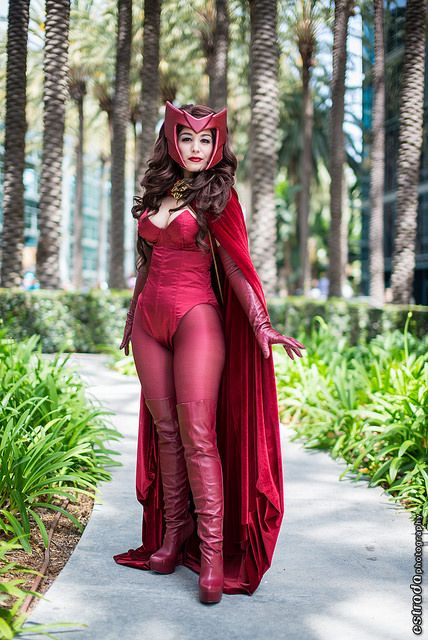Scarlet Witch #Marvel #Cosplay #Wondercon2014
