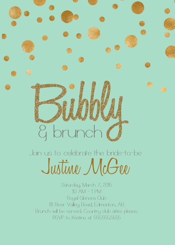 Best 25+ Gold champagne ideas on Pinterest Colored champagne - printable bridal shower invites