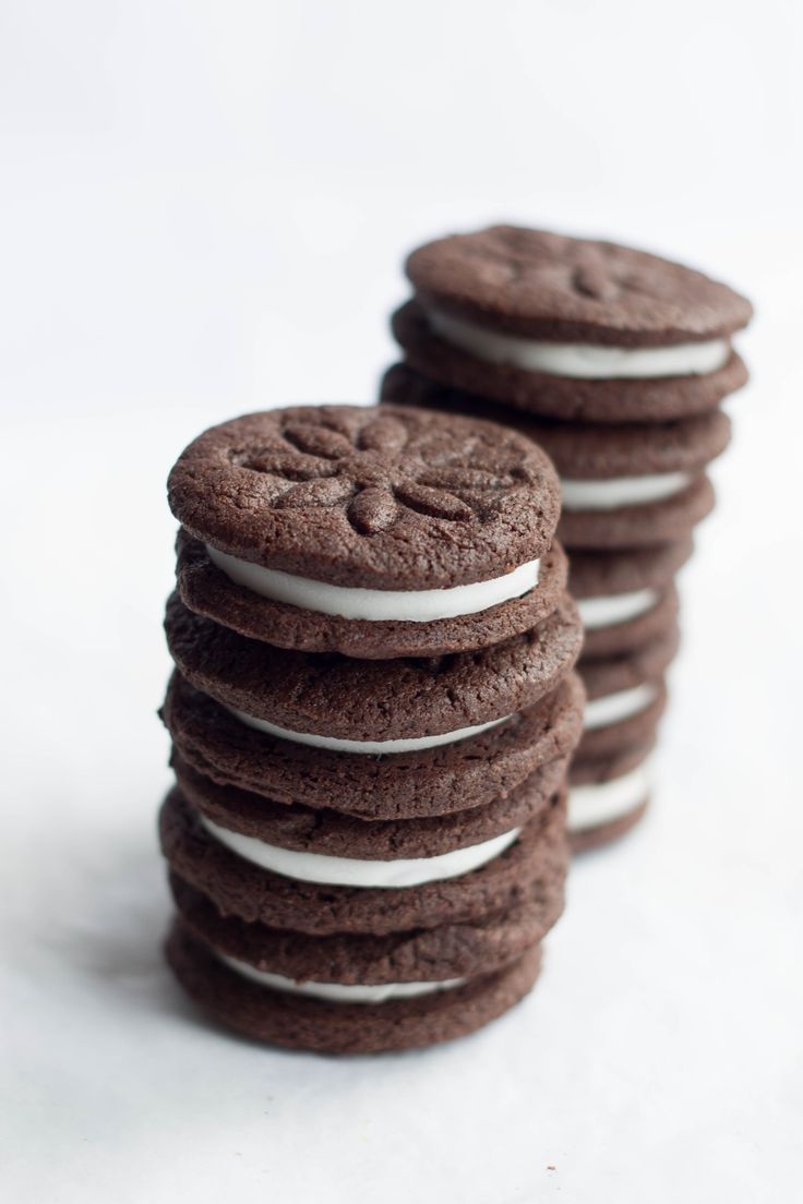 Homemade Oreos - Erren's Kitchen - Once you try this recipe, you'll never want the packaged ones again!