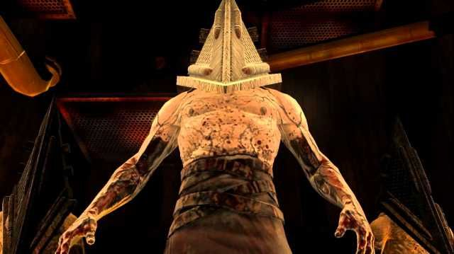 Pyramid Head from the Silent Hill series