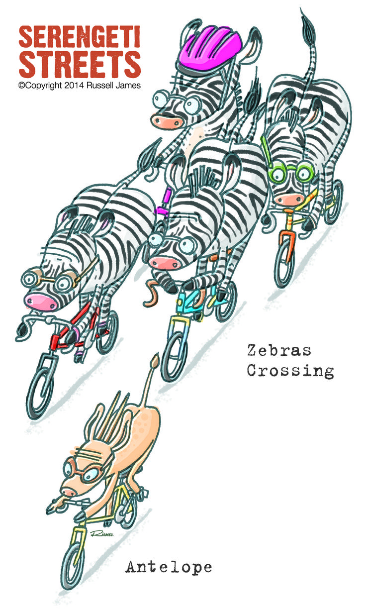 Serengeti Streets - the Peleton by Russell James