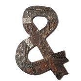 Found it at Wayfair - Antique Tin & Symbol Textual Art