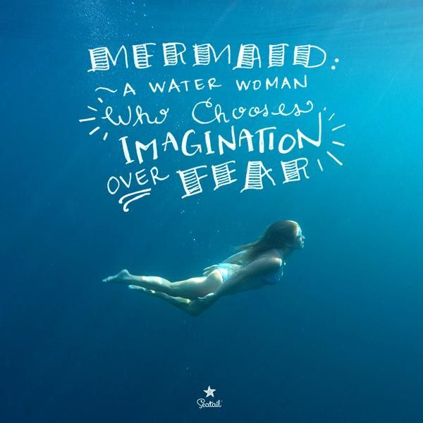 Quotes About Water: 88 Best Mermaid Sayings, Quotes & Words Images By Seatail