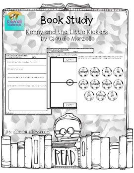 This resource was created to go along with the book Kenny and the Little Kickers by Claudio Marzollo. In the first activity, the students will write about Kenny's feelings in the beginning, middle, and end of the story. The second activity is for students to sort short and long o words. They will cut out soccer balls, read the words written on each, and glue them on the correct side of the soccer field. I use these with my guided reading groups to give students an activity to do with thei...