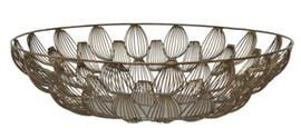 Scallop Shell Bowl  Contemporary, Transitional, Metal, Bowl by Renovation Room