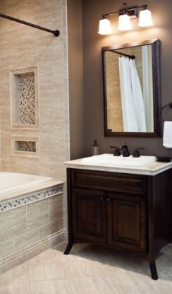 Bathroom Remodeling Options 14 best tile tub images on pinterest | bathroom ideas, bathroom