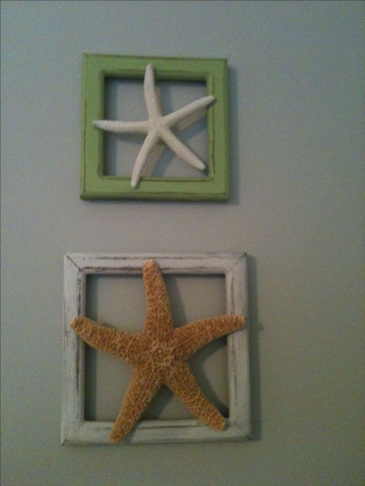 I like the size of frame in proportion to the star fish