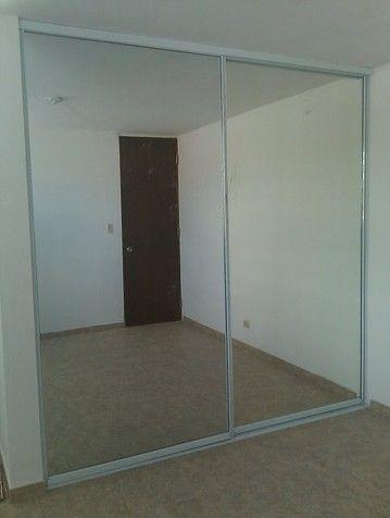 Puerta de closet en espejo corrediza 250 de alto x80 de - Puertas de espejo ...
