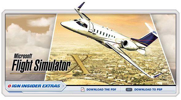 Microsoft Flight Simulator X - pc - Walkthrough and Guide - Page 1 - GameSpy