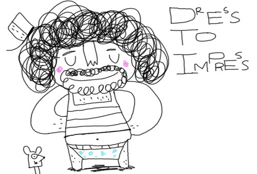 Daily doodle day 61 – Dress to impress your soul :) | Daily Doodle ...