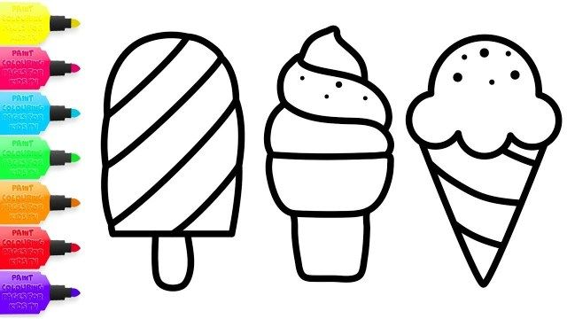 21 Creative Photo Of Ice Cream Coloring Pages Ice Cream