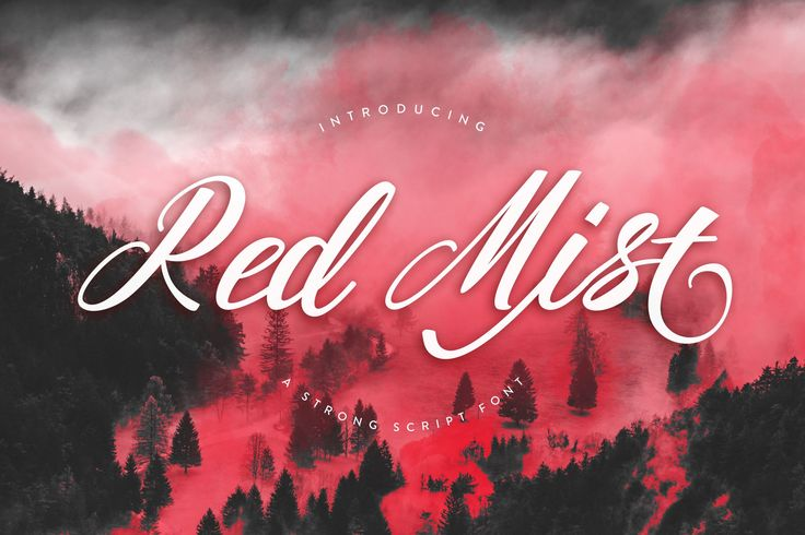 Red Mist is crammed with lots of extra glyphs, swirls and swashes to make your projects come to life. Download for free today!#free #font #lettering #type #typeface -partner link